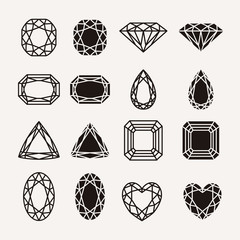 diamond icons