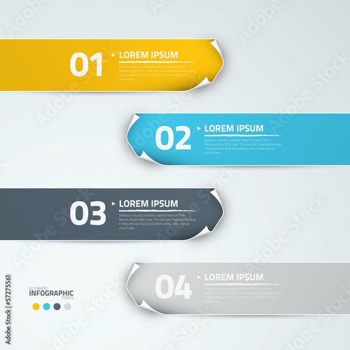 Infographic options vector eps10