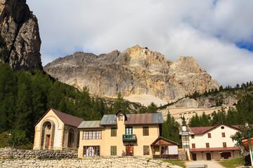 Piccolo Lagazuoi dal Passo Falzarego