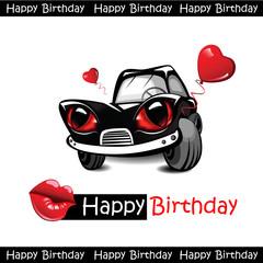 Happy Birthday love car