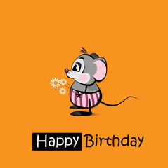 Happy Birthday smile mousy