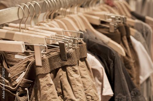 vêtements beige