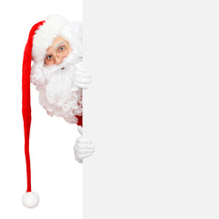 Weihnachtsmann mit langer Mütze