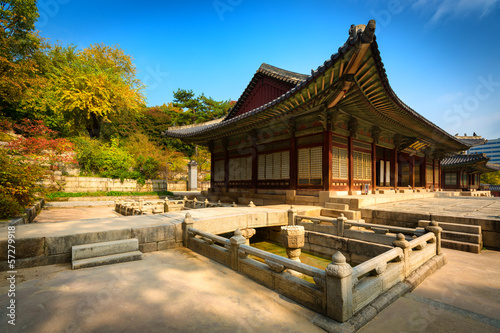 Park of Changgyeonggung Palace, Seoul, South Korea.