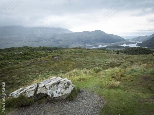 Poster Ring of Kerry - Queen's view - Ireland