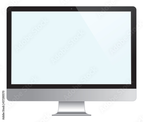 Computer Desktop Monitor, Display.