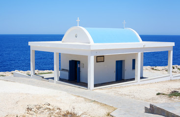 Small greek chapel
