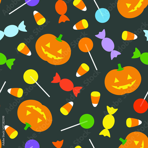 Retro Halloween Background