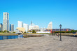 Scenic view of the Yokohama Minato Mirai 21 Area in Japan.