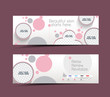 Beauty Care & Salon Web Banner, Header Layout Template.