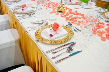 Upscale tableware