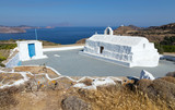 Panagia Tourliani chapel, Milos island, Cyclades, Greece