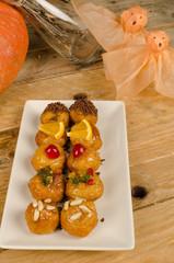 Spanish Halloween biscuits