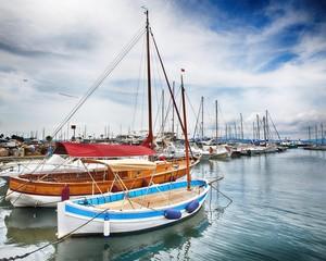 Yach in Saint Tropez - HDR