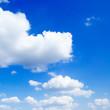 Fototapete Blau - Wolken - Tag