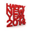 3D - Happy New Year 2014 (I)