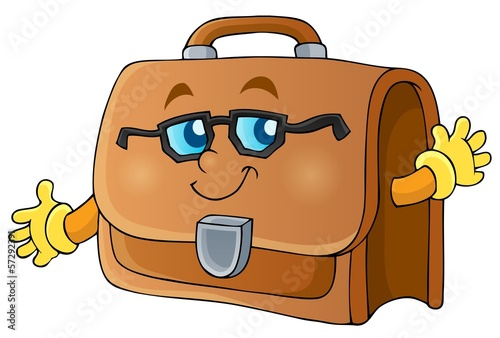 Image with briefcase theme 1