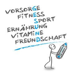 Gesundheit, gesunde Lebensweise