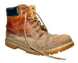 Old Worn Out Work Boot