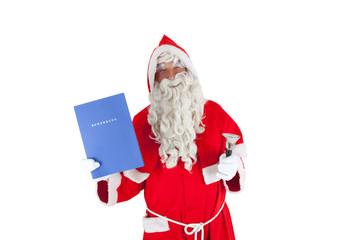 Bewerbung als Weihnachtsmann