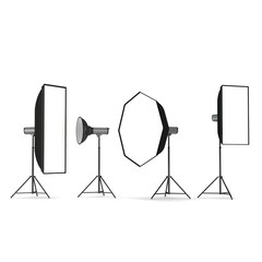 selection of lighting equipment