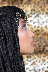 Woman in Cleopatra style