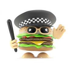 Officer Burger