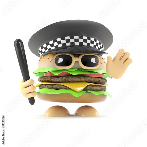 Officer Burger
