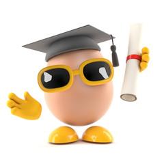Graduate Egg