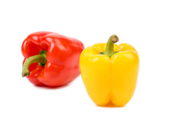 Two sweet peppers