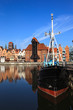 Panorama of Gdansk, Poland.
