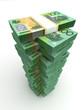 Tower of Australian Dollar