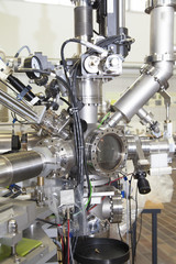Mass spectrometer in nuclear lab