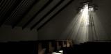Stained Glass Window Crucifix Church - 57298926