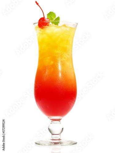 In de dag Buffet, Bar Tequila Sunrise