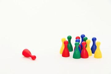 Ludo Board Game Figurines
