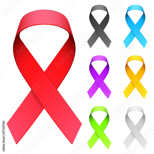 Aids ribbon.