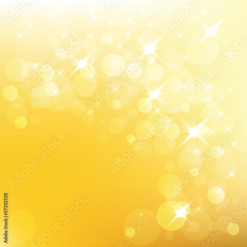 Vector christmas golden background
