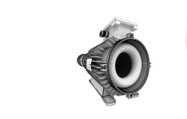 Meccanica, motore, turbina, rotore, elementi