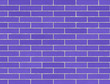 Purple brick wall