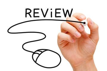 Online Review Concept