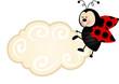 Ladybird Cloud Label