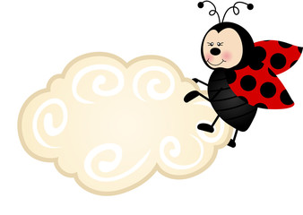 Ladybird Cloud Label