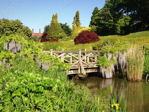 Wooden Bridge at RHS Wisley