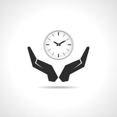 Save time concept-vector illustration