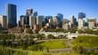 Downtown Calgary skyline, time lapse