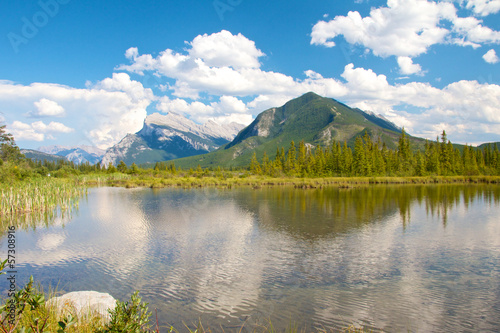 Vermillion Lakes View