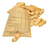 Wage Packet And Peanuts poster