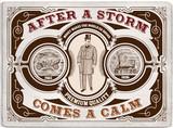 Vintage ephemera card. poster