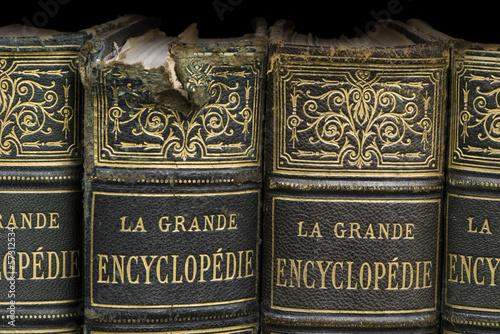 Old books on shelf - 57312534